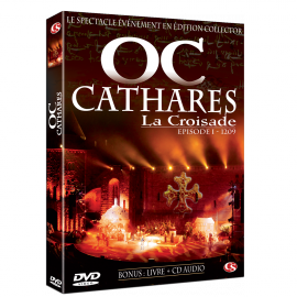 OC CATHARES The Crusade 1209 (DVD+CD)