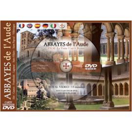 ABBAYES de l'Aude (Aude Abbeys DVD postcard)
