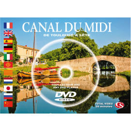 CANAL DU MIDI a cruse (DVD postcard)