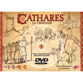 CATHARES LA CROISADE (DVD postcard)