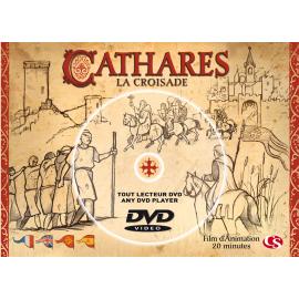 CATHARES LA CROISADE en Carte Postale DVD