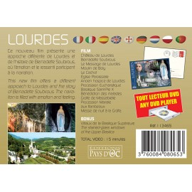 LOURDES (DVD postcard)