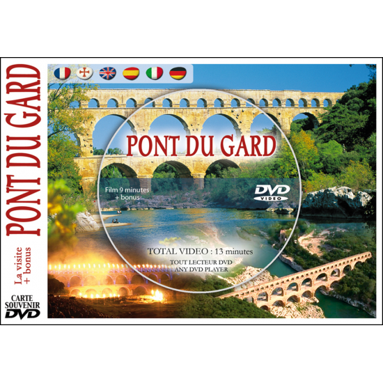 PONT DU GARD en DVD