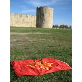 4 - Occitan Flag - Pavillon 120 x 180