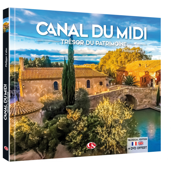 Canal du Midi Trésor du Patrimoine (Livre + DVD)