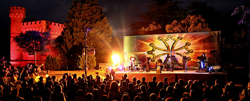 Groupe OC en concert à Rennes-le-Château