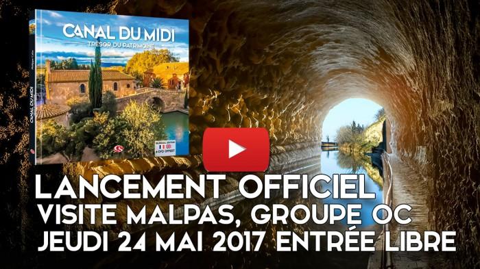 Nouveau Livre-DVD Canal du Midi Trésor du Patrimoine